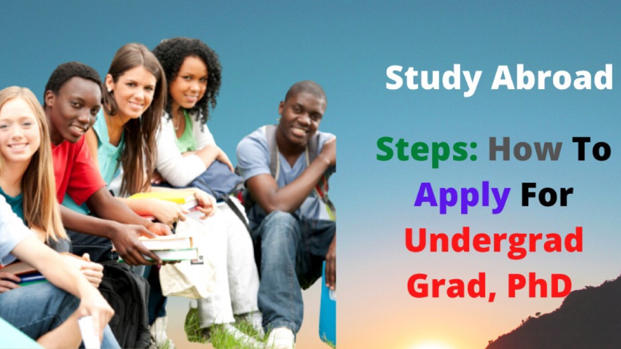 Study Abroad - how to apply