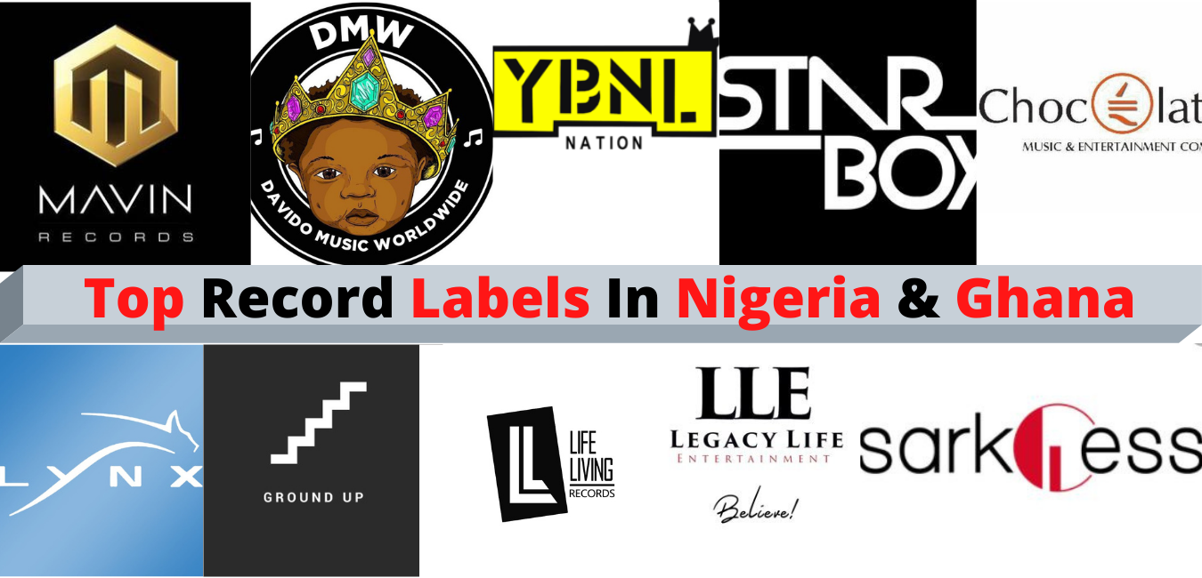 Record Labels In Nigeria And Ghana